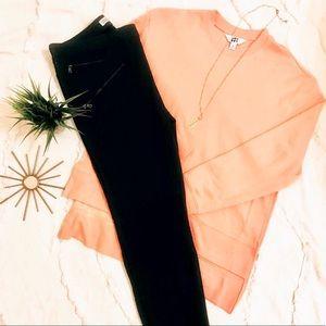 Dark Gray Zara Z1975 Basic Denim Pants | NWOT | 12
